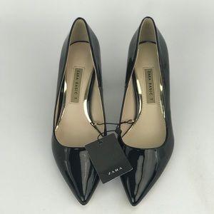 Zara Basics, size 7.5, pump w/ chunky heel